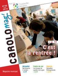 Carolo Mag' septembre 2010 (pdf - 4,19 Mo) - Ville de Charleville ...