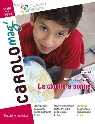Carolo mag' n°162 - septembre 2012 - Ville de Charleville-Mézières