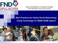 Best Practices for Online Social Networking - The Family Network on ...