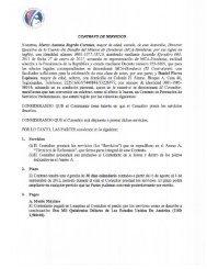 Contrato Daniel Flores Espinoza.pdf - Cuenta del Milenio - Honduras