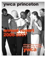 YWCA Annual Report 2006-7 - YWCA Princeton