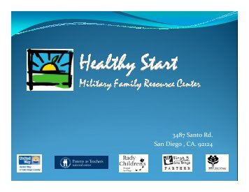 Dads on Duty Program Overview Presentation - Parents as Teachers