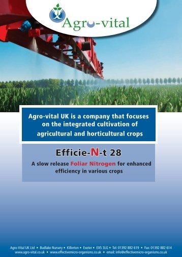 Efficient 28 brochure - Effective Micro-organisms