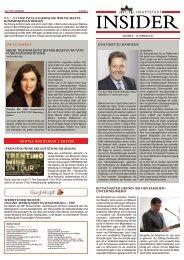Hauptstadt Insider Nr. 8 25. Februar 2011 - Bundesverband ...