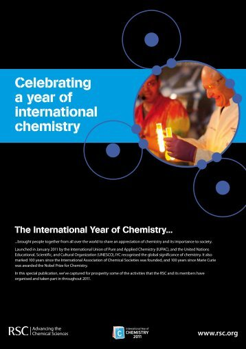 UK (pdf) - International Year of Chemistry 2011
