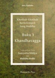 Samyutta Nikaya 3 – Khanda Vagga - DhammaCitta