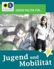 Jugend und Mobilität - Franziska Brantner
