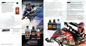 G2507 - Power Sports Products Handout - OilTek Solutions