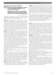 Infectious Disease Street: ID Street - BMJ Quality and Safety
