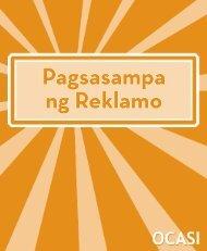 39015 Making a Complaint Tagalog.indd - Settlement.org