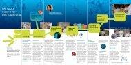Folder 'De route naar arts-microbioloog'