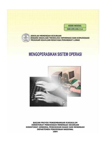 Mengoperasikan Sistem Operasi - e-Learning Sekolah Menengah ...