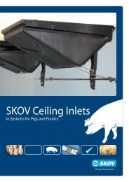 DA 1500 DA 1800 ceiling inlets - Skov A/S