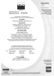 CERTIFICATO N. CERTIFICATE N, 9115-ETA2 - roger.at