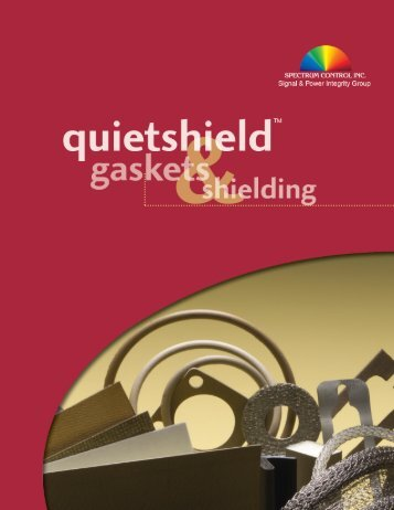 Quietshield Gaskets & Shielding - Richardson RFPD