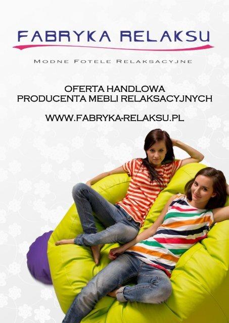 oferta handlowa producenta mebli relaksacyjnych www.fabryka ...