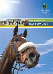 HRI Fact Book 2005 - Horse Racing Ireland