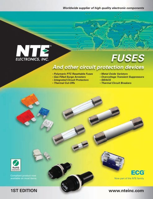 Fuse Holder Type NTE Electronics R59-15A Thermal Circuit Breaker 0.007 Ohms 15 Amp 0.250 Quick Connect Terminal Inc. 0.250 Quick Connect Terminal