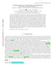 arXiv:gr-qc/0411017 v1 3 Nov 2004 - iucaa