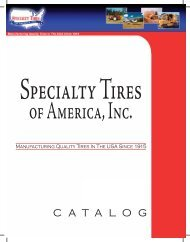 manuf acturing quality tires in the usa since - Midwest Tire & Muffler ...