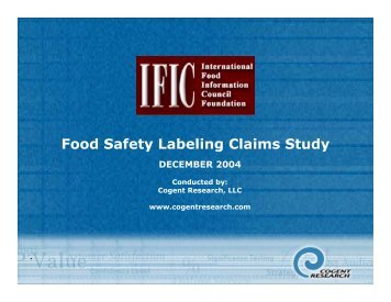 Download a PDF - International Food Information Council Foundation
