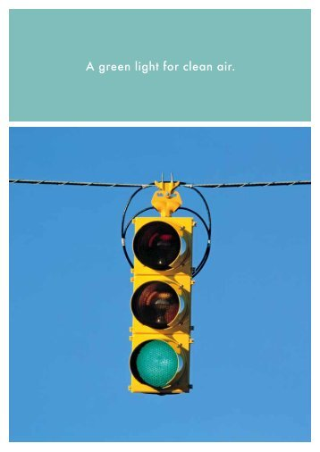 A green light for clean air. - Savent