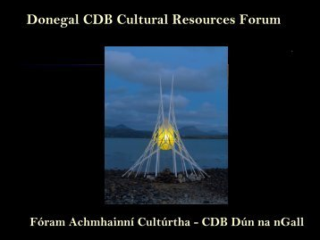 Cultural Resources - Donegal County Development Board