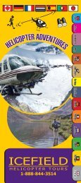 Icefield Helicopter Tours