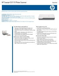 HP Scanjet G3110 Photo Scanner - Computer Supplies Unlimited