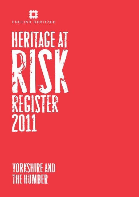 English Heritage 'at-risk' register 2011 - HU12 Online