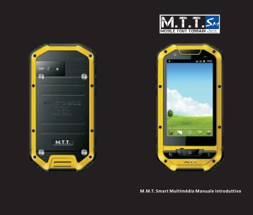 M.M.T. Smart Multimédia Manuale introduttivo - Mobile Tout Terrain
