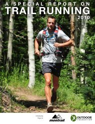 TRAIL RUNNING - The Outdoor Foundation