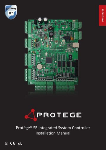 Protégé SE Integrated System Controller Installation Manual