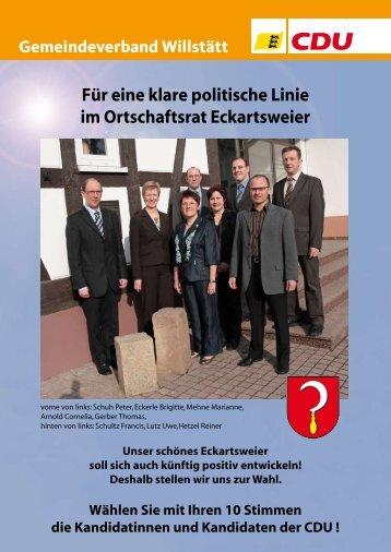 Eckartsweier - CDU Gemeindeverband Willstätt