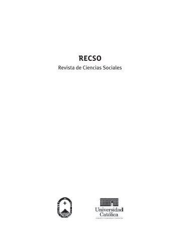 Revista de Ciencias Sociales - Grupo de Estudios Urbanos y ...
