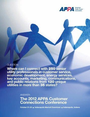 Sponsor prospectus - American Public Power Association