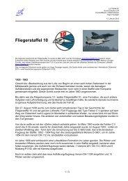 Fliegerstaffel 10 - Schweizer Luftwaffe