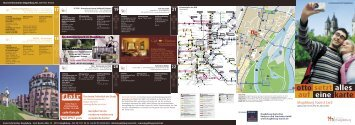 Begleitflyer zur Tourist Card - Landeshauptstadt Magdeburg