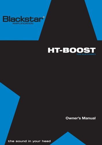 HT-BOOST - Blackstar Amplification