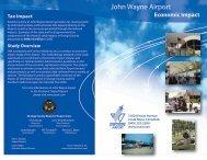 Economic Impact for Calendar Year 2005 - John Wayne Airport ...