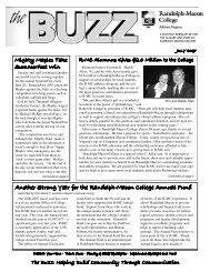 July 2007 - Randolph-Macon College