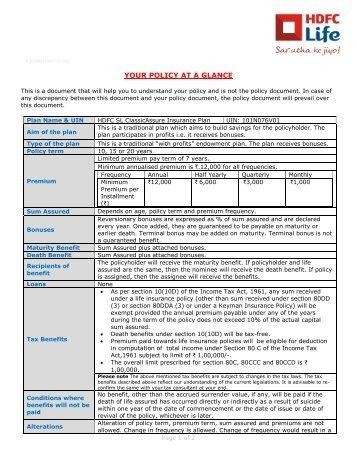 Customer Grievance Redressal Hdfc Life Insurance Autos Post