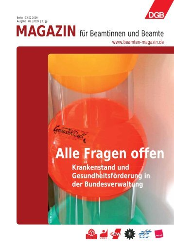 Ausgabe 02/2009 - Landesbeamte
