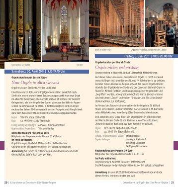 Neue Orgeln in altem Gewand Orgeln erleben und verstehen
