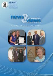 NOVEMBER 2011 - Society of Radiographers