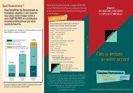 Clésde lecture de votre accord - Agefos PME