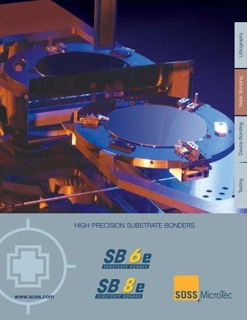 SB brochure2006 - SUSS MicroTec
