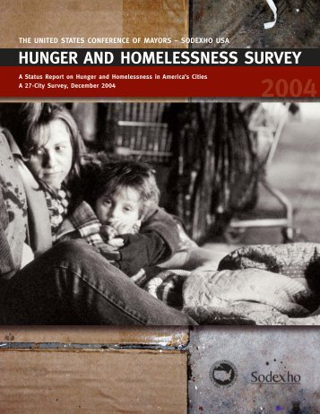 hunger and homelessness survey - U.S. Conference of Mayors