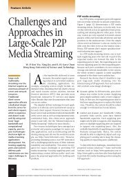 Challenges and Approaches in Large-Scale P2P Media Streaming