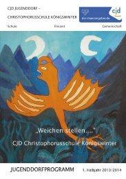 CJD JUGENDDORF – CHRISTOPHORUSSCHULE KÖNIGSWINTER